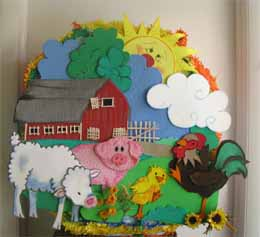 Pinata Farm Animals