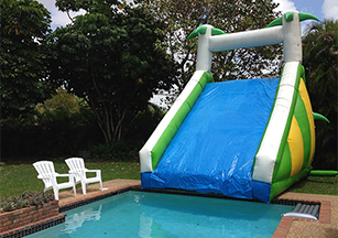Xtreme Tropical water Slide