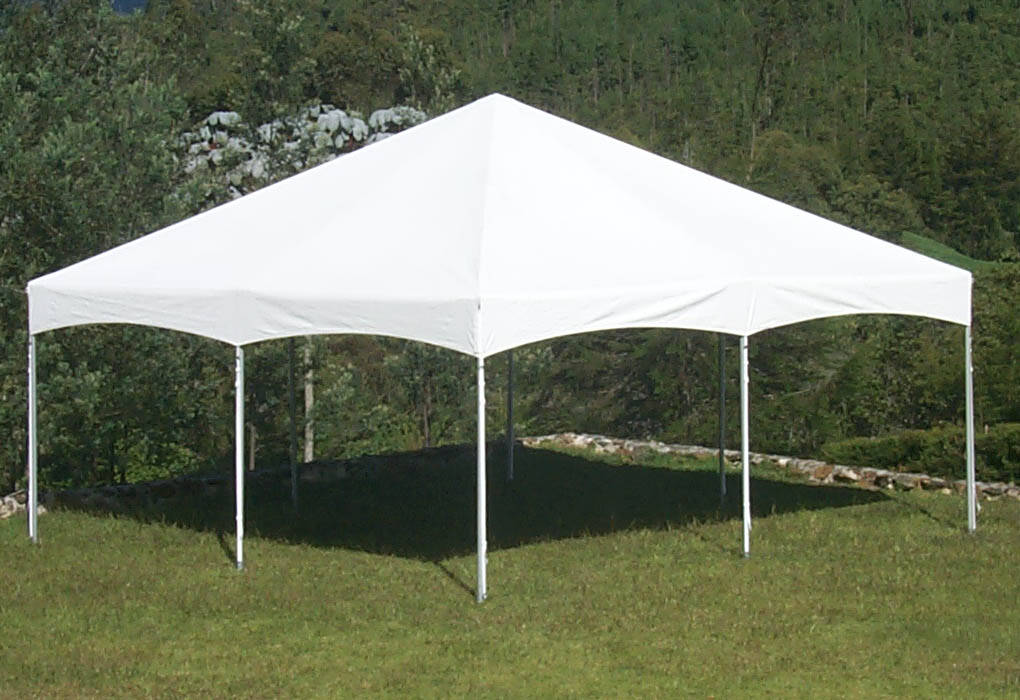 Tents can be setup over grass or cement**