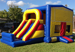 Themed Combo Slide Bouncer